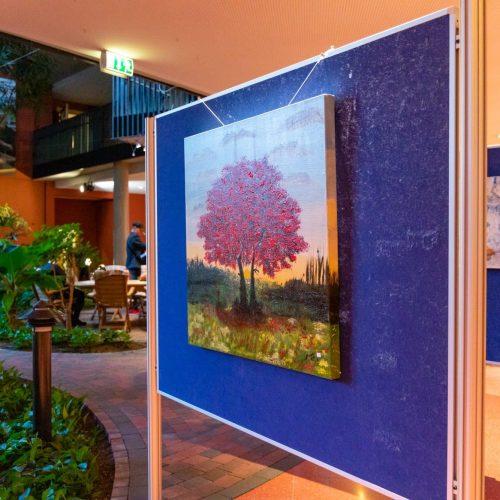 Vernissage Farbgeschichten im Mediana Pflegestift