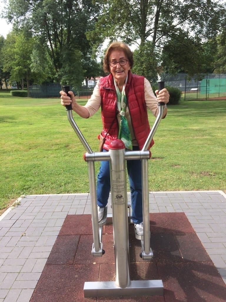 Fitness im Bürgerpark Hünfeld