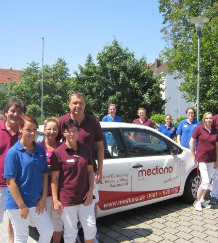 Mediana Mobil: Ein Fuhrpark auf dem neuesten Stand der Technik
