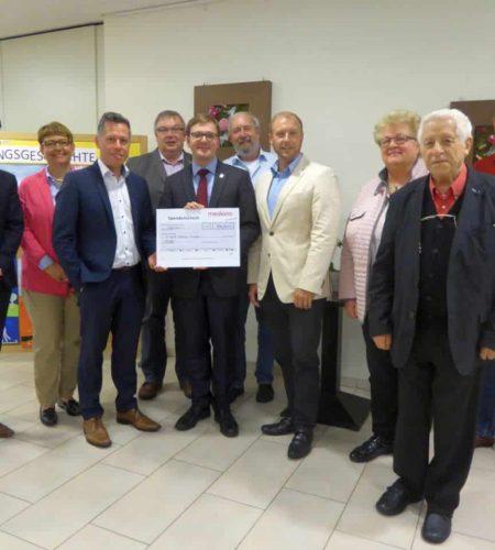 Mediana St. Ulrich spendet Überschuss aus Gartenfest an die Stiftung St. Ulrich
