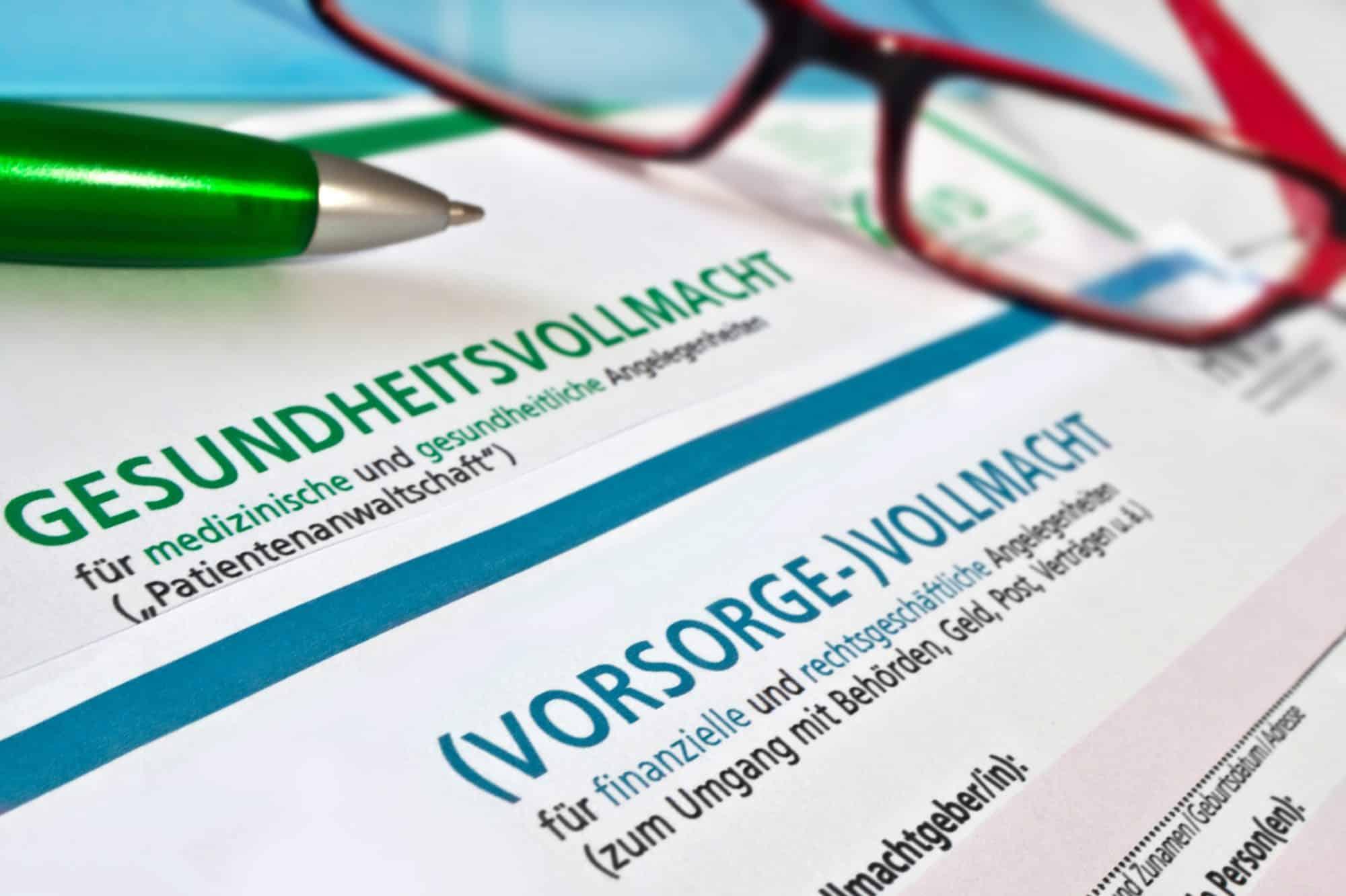 Mit Vorsorgevollmacht und Patientenverfügung früh persönliche Handlungsfreiheit sichern