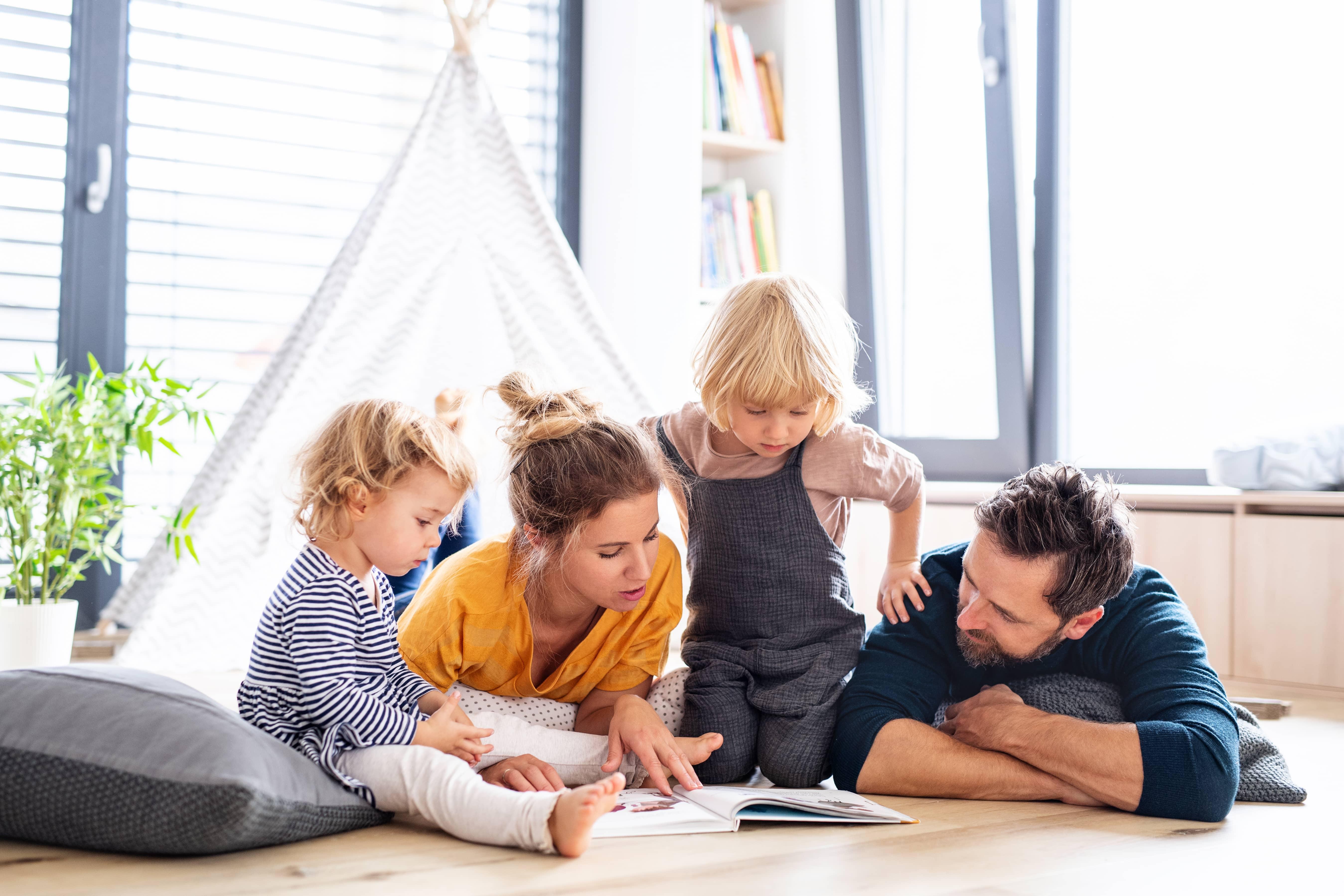 Langeweile ade - Tipps für die Familienzeit zuhause